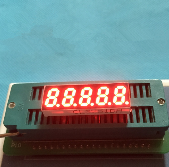 Common Cathode/ Anode 0.32 inch digital tube 5 bits digital tube led display 0.32inches RED digital tube