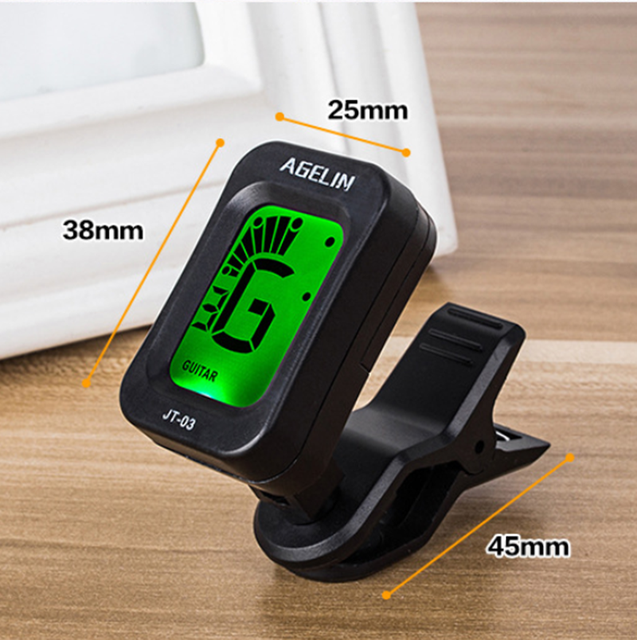 Digital Clip-on Tuner for Ukulele