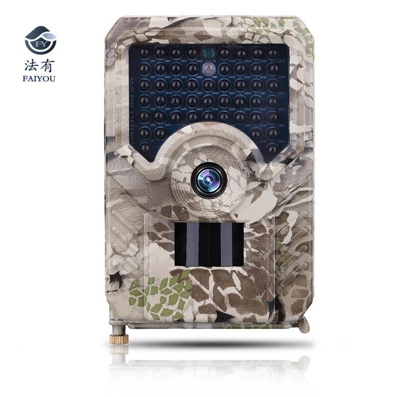 Caméra de chasse 12MP Photo pièges Vision nocturne 49 pièces 940nm IR LEDs 1080 P vidéo caméra sauvage chasseur Scouting caméra de piste