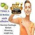 60 Tampas por 2 meses de USO! Garcinia cambogia suplemento da dieta da perda de peso Emagrecimento Queimar Gordura para as mulheres