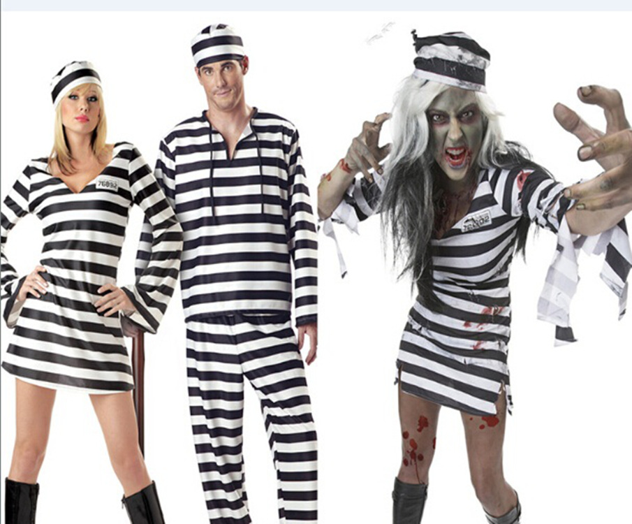 Halloween Cosplay Costumes Women Men Couple Prisoner Cosplay Costumes Lover Zombie V&ire Cosplay Costumes -in Holidays Costumes from Novelty u0026 Special Use ...  sc 1 st  AliExpress.com & Halloween Cosplay Costumes Women Men Couple Prisoner Cosplay ...