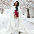 Victorian Bridal Cape Navy Blue IVORY Satin with Fur Trim Wedding Cloak Winter 2016 Spring Bridal Bolero CC006
