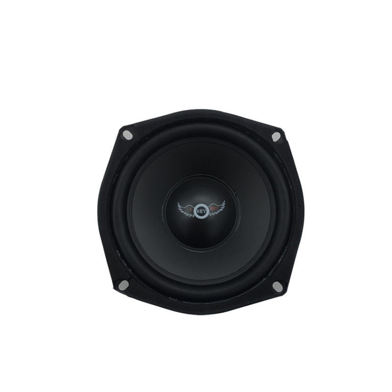 I Key Buy 5 Inch Hifi End Full Range Car Speakers 150W 4Ohm Foam Edge Surround Midrange Auto Loudspeaker