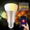 DIY Wi-Fi СВЕТОДИОДНЫЕ Лампы E27 5 Вт AC110-240V лампада ПРИВЕЛО Затемнения лампа Лампа Дистанционного Управления Привели Пятно Света для iPhone Android телефоны