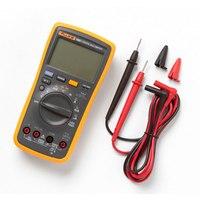 Fluke Tester Multimeter Digital Multimeter Profissional 18B+ Portable Handheld Digital Tester for AC/DC DMM with LED Test Leads