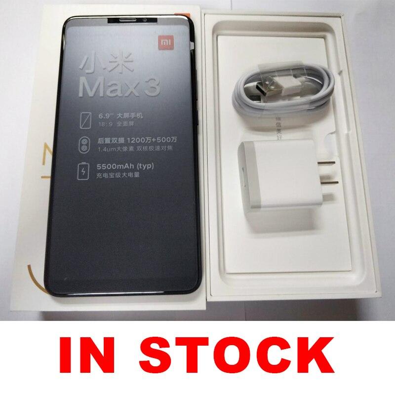 Globale ROM Xiao mi mi Max 3 4GB 64GB 6,9 Full Screen Snapdragon 636 Octa Core 5500mAh QC 3,0 12MP + 5MP Dual Kamera Smartphone - 6