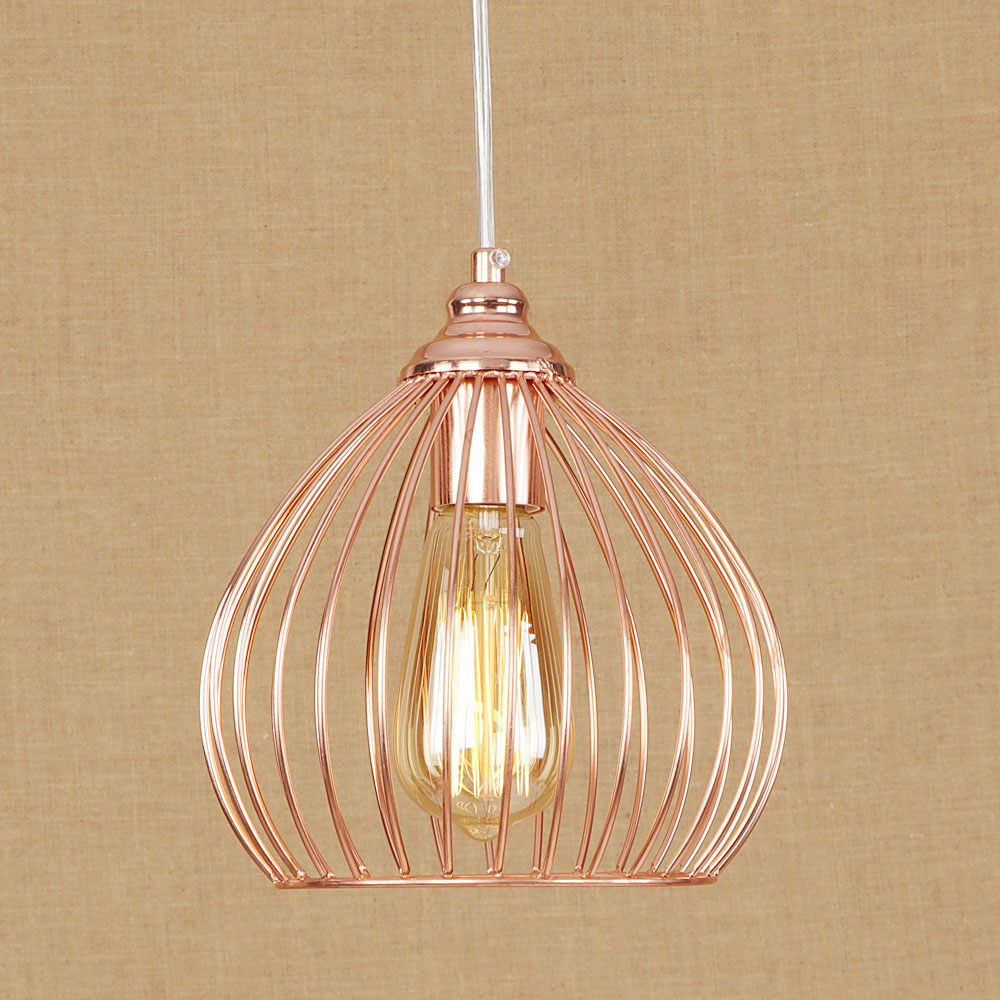 American Loft Style Iron Droplight Industrial Vintage LED Pendant Light Fixtures For Dining Room Hanging Lamp Indoor Lighting retro loft style iron cage droplight industrial edison vintage pendant lamps dining room hanging light fixtures indoor lighting
