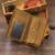 ShowMi 2016 Crazy Horse Hombres de Cuero Marrón Monedero de la Moneda Del Cerrojo Fotos de la Tarjeta monedero Holder Walet Marca de Lujo Masculino Retro de La Vendimia billetera