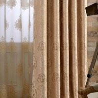 Jacquard European Design Classic Blackout Curtain For Living Room Or Bedroom Window