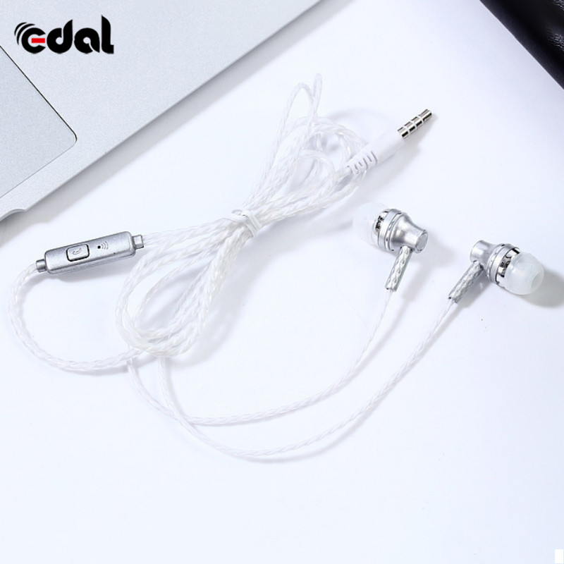 New Arrival Wired In-Ear Earphone Music Clear Bass Earpiece Sport Earbuds With Mic For iPh