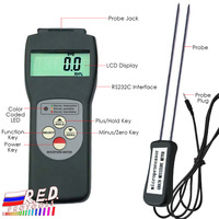 Handheld Digital Grain Moisture Meter Tester Rice Wheat Corn New 6 30% Range Measures 36 kinds of Grains