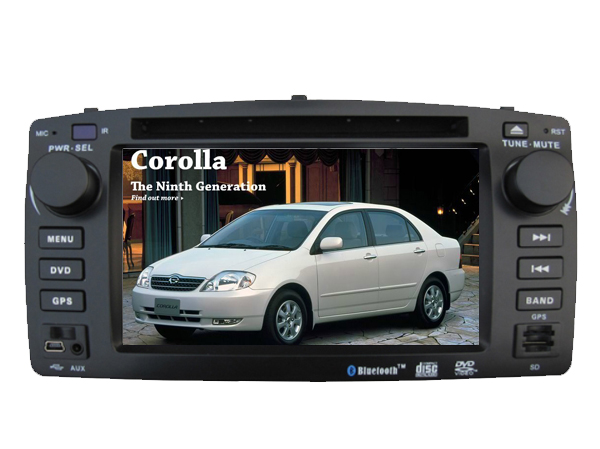 WINCE 6.0 CAR DVD PLAYER FIT FOR BYD F3 Toyota Corolla E120 2003 2004 2005 2006 Car Audio Multimedia player GPS Navi bluetooth