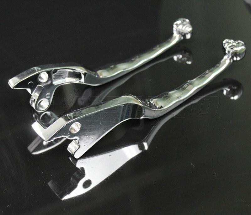 94 Suzuki Consumer Ratings: Motorcycle Skull Brake Clutch Levers For 1990 2004 Suzuki