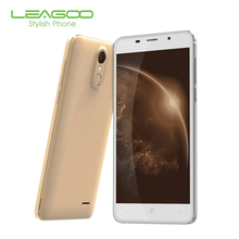 LEAGOO M5 Plus 4G Mobile Phones MT6737 Quad Core 1.3GHz ROM 16GB Android 6.0 Smatphone 5.5 Inch  OTG 13MP Celllphone Fingerprint