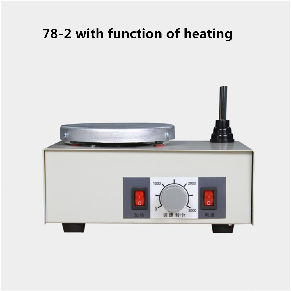 цена на 78-2 Lab Agitator Magnetic Stirring Apparatus Whisk Laboratory Beaker Mixing Tools With The Function of Heating