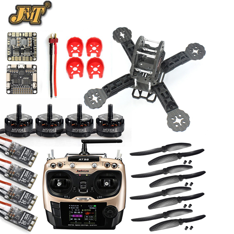 JMT DIY Toys RC FPV Drone Mini Racer Quadcopter 190mm Carbon Fiber Racing Frame Kit SP Racing F3 Deluxe Flight Controller jmt diy racer 250 fpv rtf drone with sp racing f3 flight controller ccd camera radiolink at9s tx