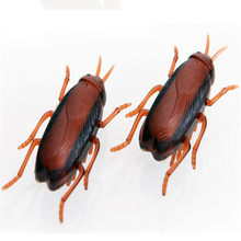 Funny Cockroaches Crawling Motion Toys Electronic Nano Mini Mechanical Insect Hex Bug Pet Birthday Gifts Oyuncak Toys(China)