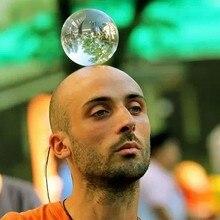 60/70/80/90/100 мм связаться жонглирование мяч Волшебные трюки Кристалл Ultra Clear акриловый шар для манипуляций жонглирование