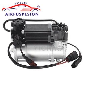 Dla VW Phaeton Bentley Continental GT powietrza sprężyna zawieszenia pompa sprężarki powietrza 3D0616005M 3D0616005K 3D0616005P 2002-2012