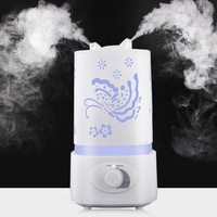 Essential Oil Diffuser Humidifier Air purifier Aroma Diffuser 7 Color LED Carve Mist Maker for Home Office Baby Room Bedroom Spa