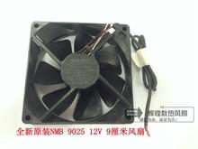 NEW NMB-MAT Minebea 3610KL-04W-B49 9225 12V 0.28A Ball bearing Projector cooling fan