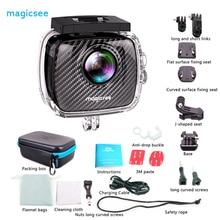 Оригинальный magicsee P3 360 панорамный Камера Спорт экшн-камер двойной Водонепроницаемый мини Камера случае Интимные аксессуары 16MP Smart VR Камера