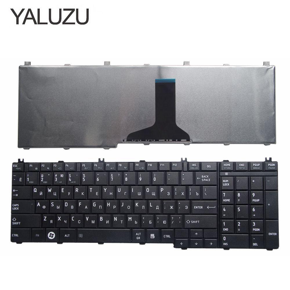 Russian Laptop Keyboard For Toshiba Satellite L670D L675D L655D C650D L750 L750D L755D L760 L770D L775 RU Layout Black
