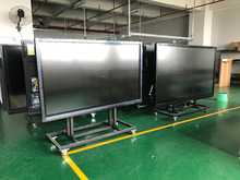 touch screen monitor 84 inch built in pc I3 all in one interactive flat panel digital board for classroom