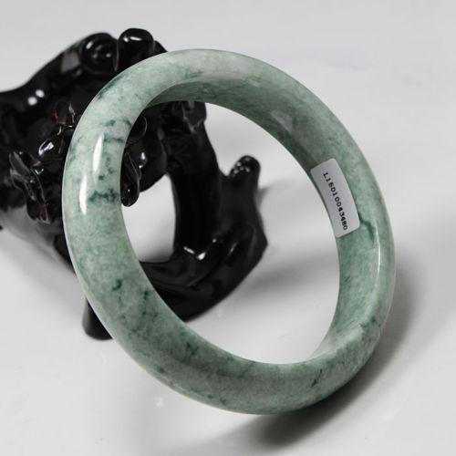 FREE SHIPPING jade Certified Grade A Natural Green Jadeite Gems Bangle Bracelet gemstone цена