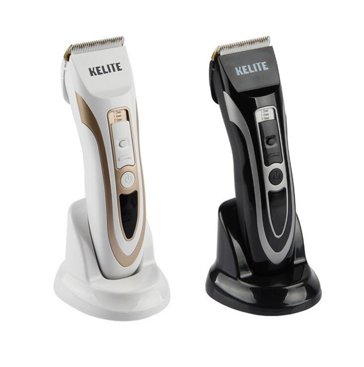 ceramic titanium blade electric hair clipper man body grooming razor precision trimmer adult haircut machine head shaver cutter rechargeable hair trimmer clipper men electric barber cutter cutting machine haircut shaving razor ceramic titanium blade 4 comb