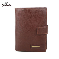 Leather Passport Cover Driver S License Cover Document Men Travel Wallet Credit Card Holder Cover On