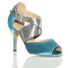 Ballroom Latin Dance Shoes Social Jazz Shoe Adult Aerobics Sports Shoes High-grade satin girl Dancing Sneakers Soft bottom 6129