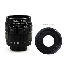 купить Witrue 35mm F1.7 CCTV TV Movie lens+C Mount+Macro ring for Sony E Mount Nex-5T Nex-F3 Nex-6 Nex-7 Nex-5R A6300 A6100 A6500 A5100 по цене 1075.97 рублей
