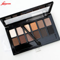 12 color pigment Matte Bronzer Glitter Eyeshadow Brand Cosmetics Eye Makeup Naked Palette Nude Eye Shadow Kit M02915