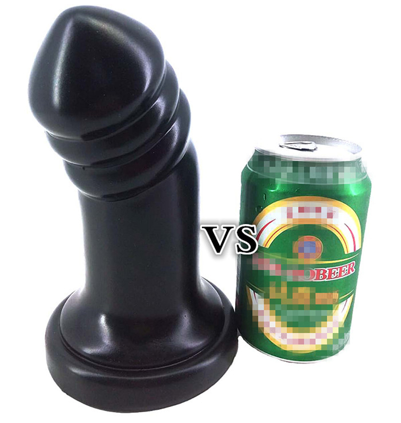 Buy FAAK Super large anal plug solid flexible realistic dildo gaint butt expansion toy adult product women men masturbation hot