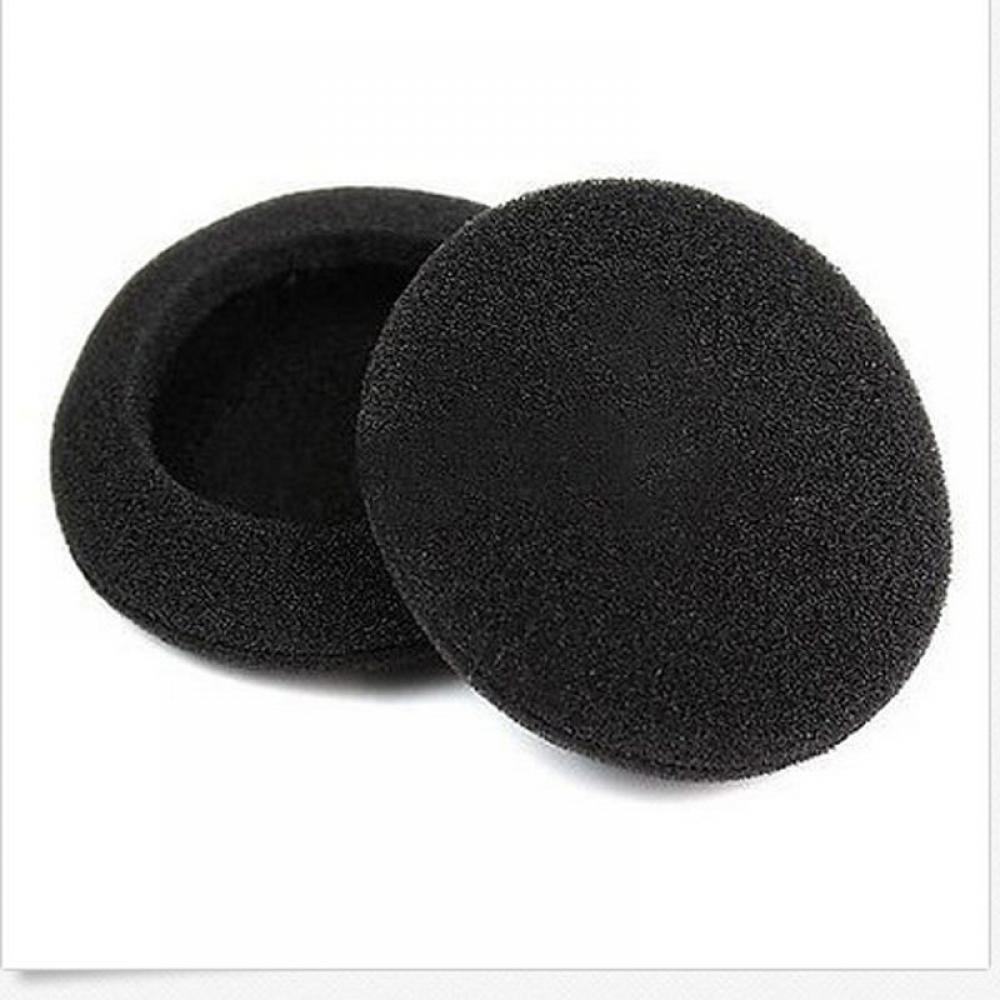 10Pcs 2 50mm Soft Foam Earbud Headphone Earpads Replacement Sponge Covers Headset Earphone for MP3 MP4 Ear Pads 2 pairs replacement soft sponge ear pads for hearing protector applicable to pte8830