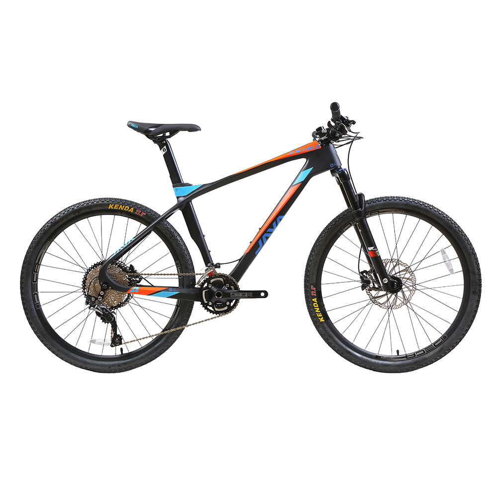 "2018 ANIMA 27.5"" Carbon Mountain Bike with SLX Aluminium Wheels 33 speed Hydraulic Disc Brake 650B MTB Bicycle"