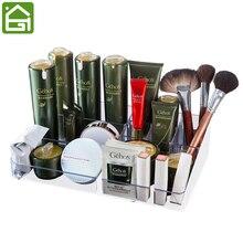 Große Acryl Make-Up Veranstalter Büro Organizer Box Kosmetische Kunststoff Aufbewahrungsbox Schreibtisch & Bad Kosmetische Aufbewahrungsbox