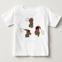 New Children Cartoon Baby Girls Moana vaiana shirt Kids Clothes Girl T Shirt Camiseta Short Sleeve T-Shirt summer Clothing MJ