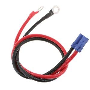 Image 5 - Araba atlama marş acil güç adaptörü kablosu 12 V 24 V EC5 konnektörleri halka terminali 500mm korozyona dayanıklı