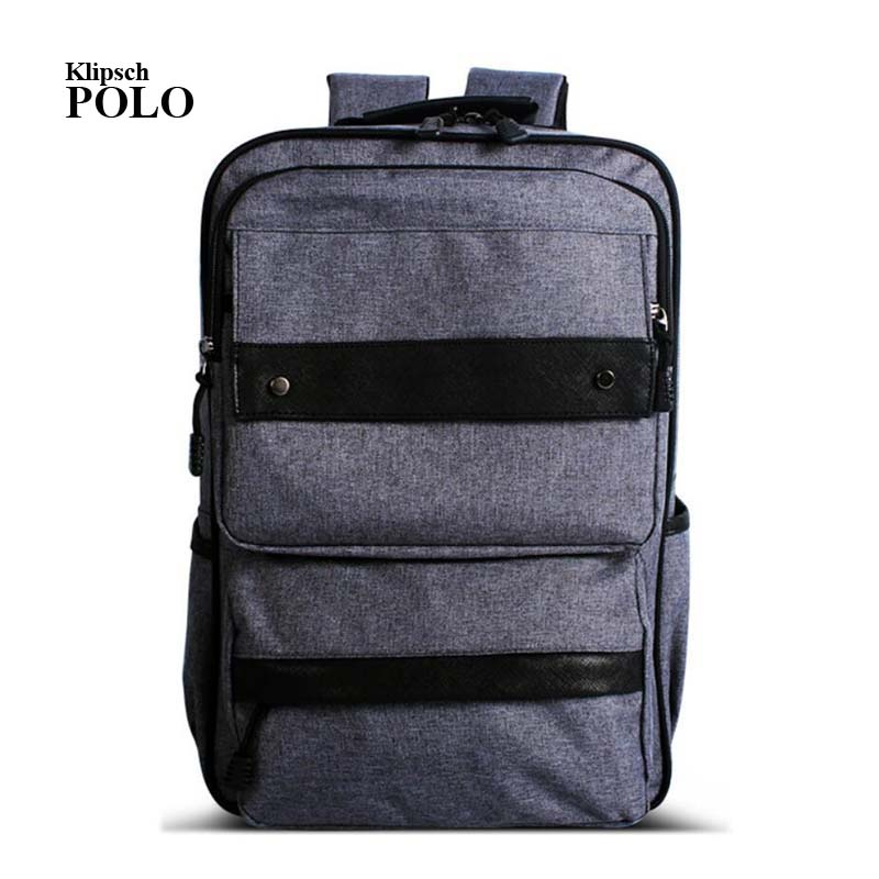 New Arrivals Men Backpack For 15 inches Laptop Backpack Large Capacity Casual Style Bag Water Repellent