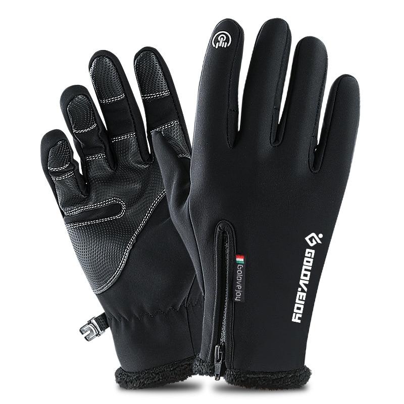 Winter Ski Gloves Men Women Child Touch Screen Motorcycle Snowboard Sport Gloves Outdoor Sports Windproof Snow Skiing Gloves
