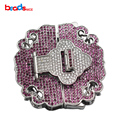 Beadsnice Multi Strand Clasp Sterling Silver Beading Clasp Long Necklace Connector CZ Micro Pave Accessories ID 35294