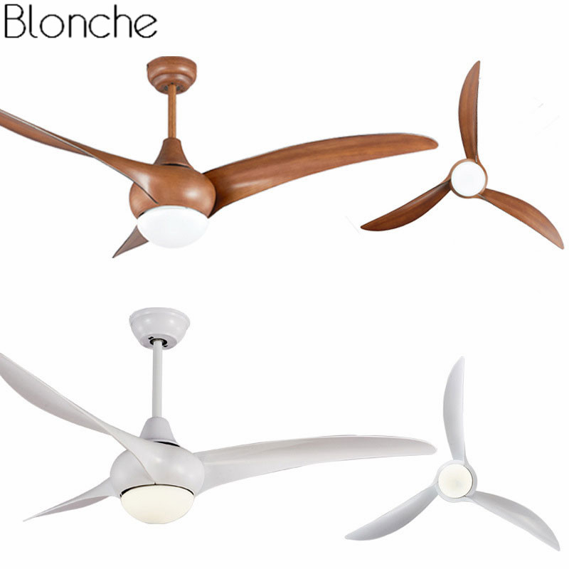 52 inch led modern ceiling fans with light remote control - Dining room ceiling fan ...