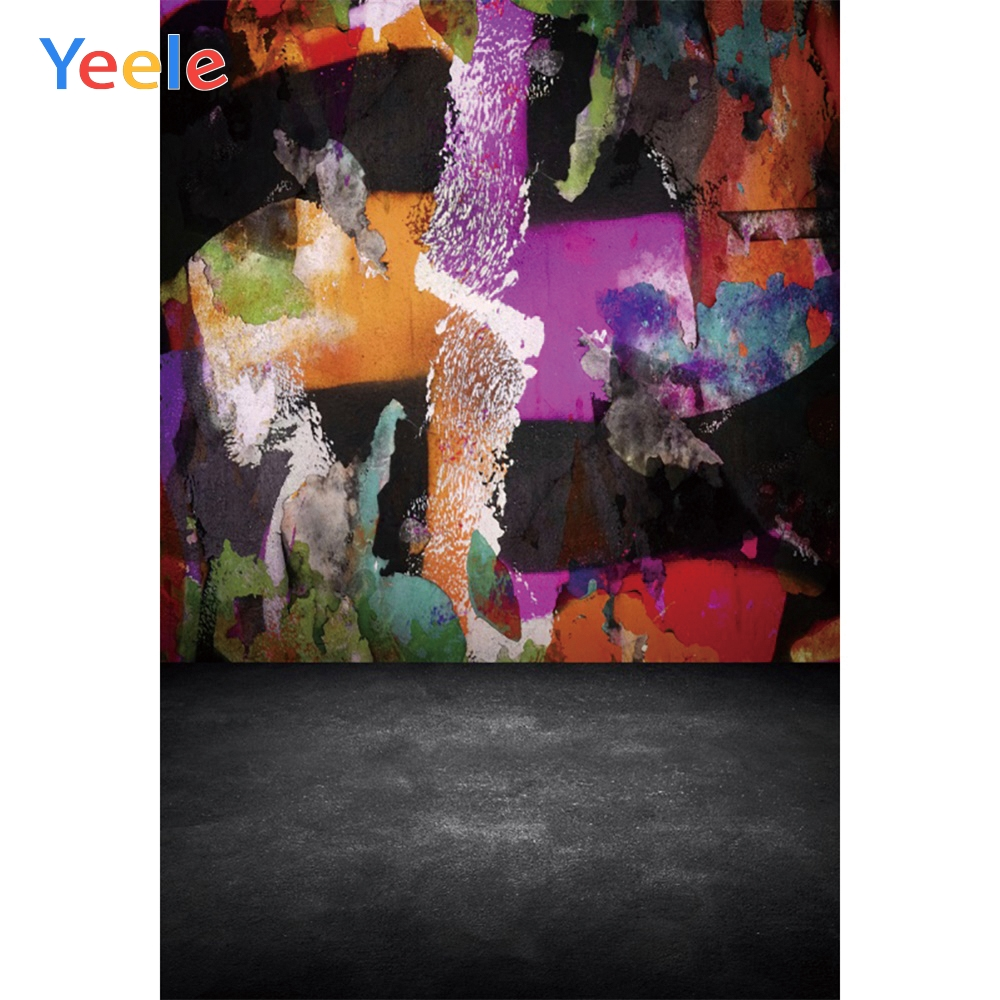 Yeele Graffiti Wall Grunge Kid Wedding Portrait Photographic Backgrounds Professional Photography Backdrops For The Photo Studio