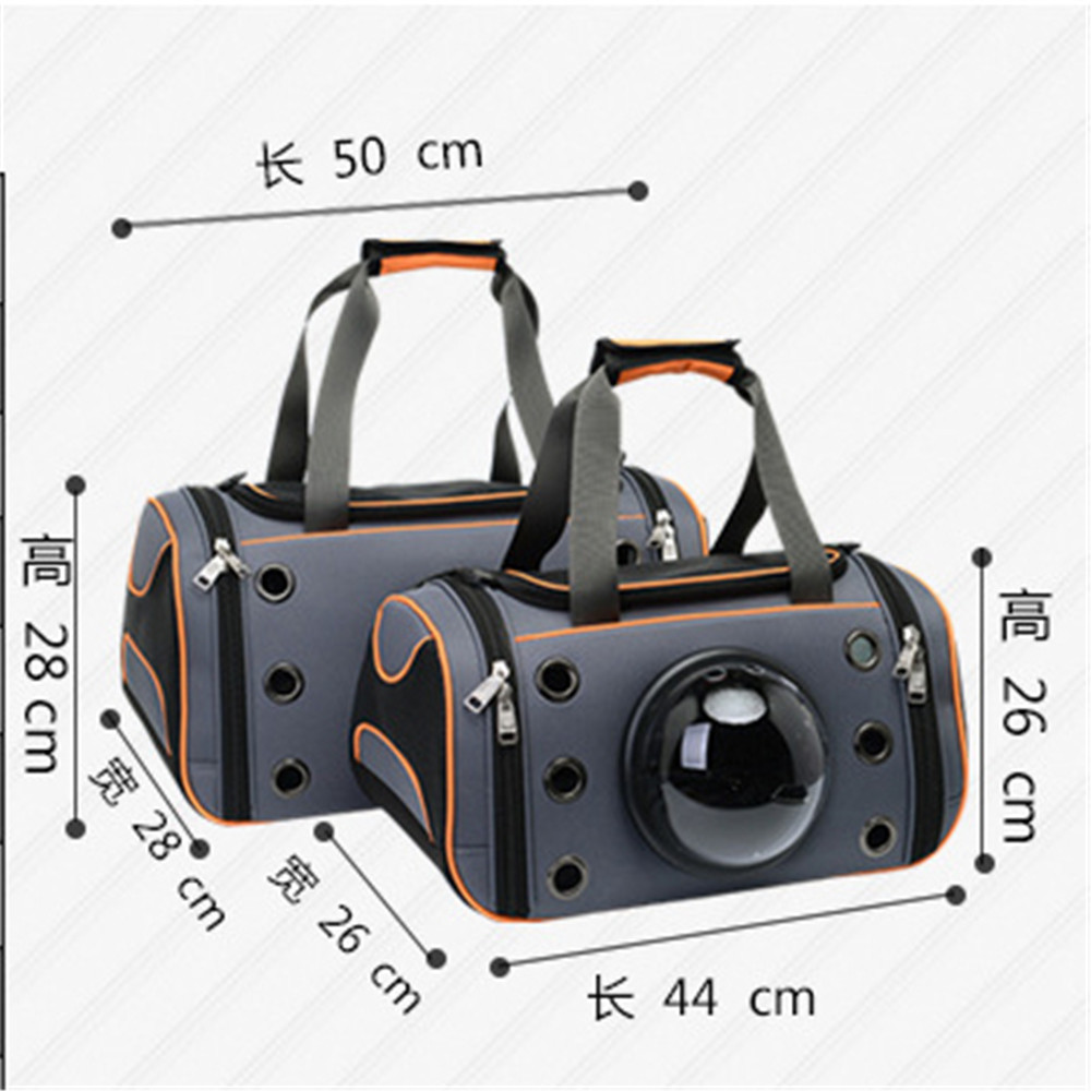 EVA Polyester Cute Cat Bag Car Subway Puppy Cats Space Bags Hot Sale Pets Puppies Handbag Traveling Cats Carrier Bags 2018