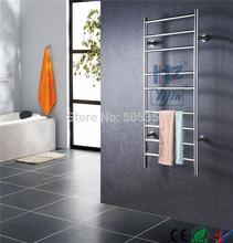 Free Shipping Stainless steel ladder style heated towel rail wall mounted towel warmer Rack electric towel dryer HZ-927A все цены