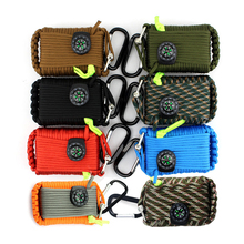 29 In 1 Outdoor Survival Equipment SOS Kit Paracord First Ai