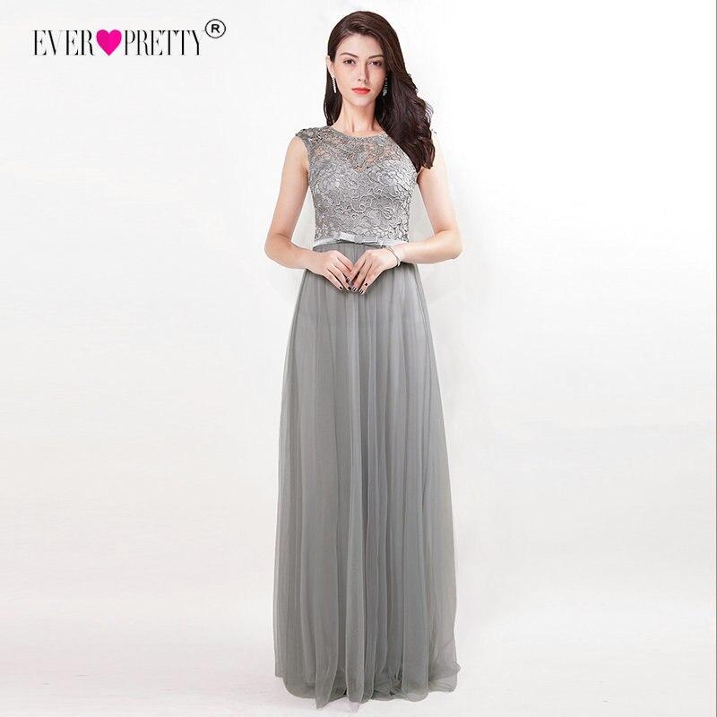 Prom     Dresses   Ever Pretty Hollow Out Lace Long Banquet Party Gown O-Neck Sleeveless Vestido De Festa Women New Vestido Formatura
