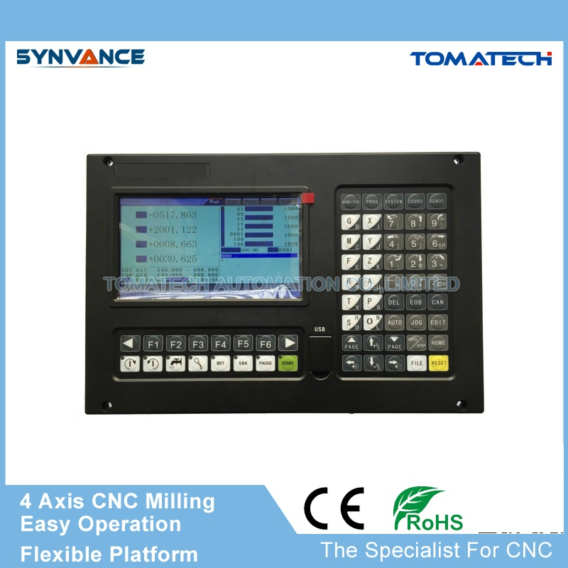 Original Engineer selling CNC milling machine retrofitting smart control system High performance 4 axis CNC Controller
